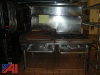 (#26) Stainless Steel Oven