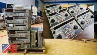 SVHS Editing Decks, Controllers, Title Generators& Digital Streamer