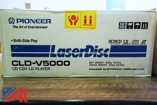 Like New in Box Pioneer Laser Disc Players #CLD-V5000
