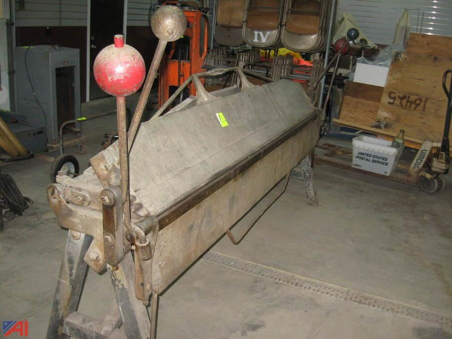 Metal Brake For Sale >> Auctions International Auction Business Liquidation Ny 16960