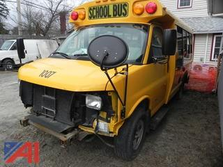 (1007) 2008 Chevrolet Express G3500 Mini School Bus
