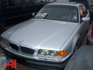 2000 BMW 740Li Sedan