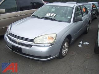 2004 Chevy Malibu Sedan