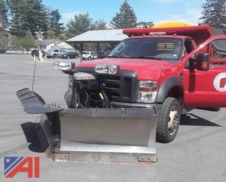 **UPDATED** 2009 Ford F550 Dump Truck with Plow and Sander