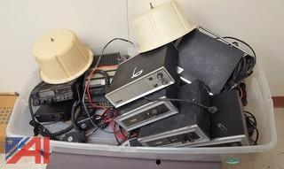 Assorted Vintage Radio Equipment