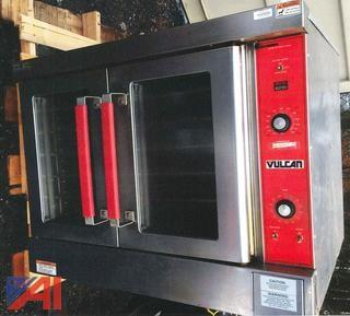 Vulcan VC4ED Single Stack Electric Convection Oven