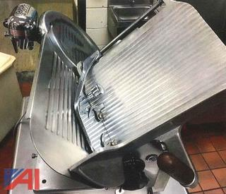 Globe Stainless Steel Commercial Slicing Machine