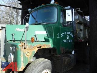 #1 1985 Mack DM685S Dump Truck