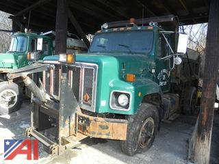 #2 1991 International 2674 Dump Truck with Plow