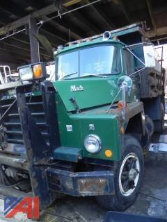 #3 1987 Mack RD685P Dump Truck with Sander