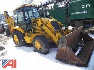 #22 JCB 215 Loader Backhoe