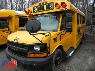**ADRESS UPDATED** (313) 2007 Chevrolet Express G3500 Mini School Bus