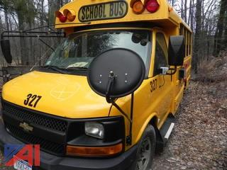 (327) 2008 Chevrolet Express G3500 Mini School Bus
