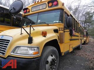 (332) 2009 Blue Bird Vision School Bus