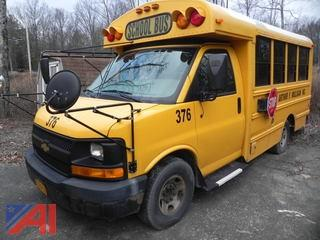 (376) 2009 Chevrolet Thomas Express G3500 Mini School Bus