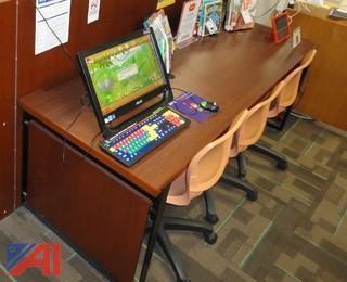 Palmieri Single Face Computer Station