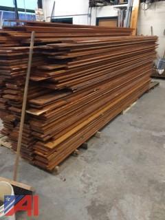 Wooden Bleacher Boards