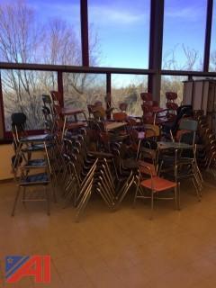 Metal Tubular Student Chairs