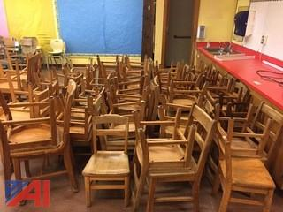 Wooden Student Chairs