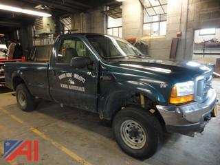 1999 Ford F250 Super Duty Pickup Truck