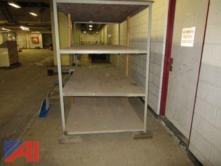 Large 4 Shelf 6' (H) x 4' (W) Shelving Unit