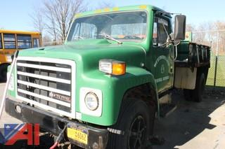 1986 International S65 Dump Truck with Plow