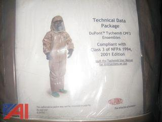 Dupont Tychem CPF3 Suits