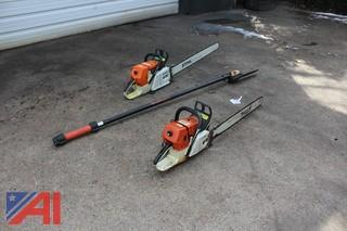 Stihl Chain Saws, Chains and More
