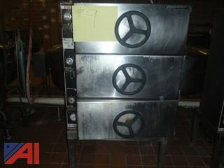 (#9) Market Force 3 Door Oven