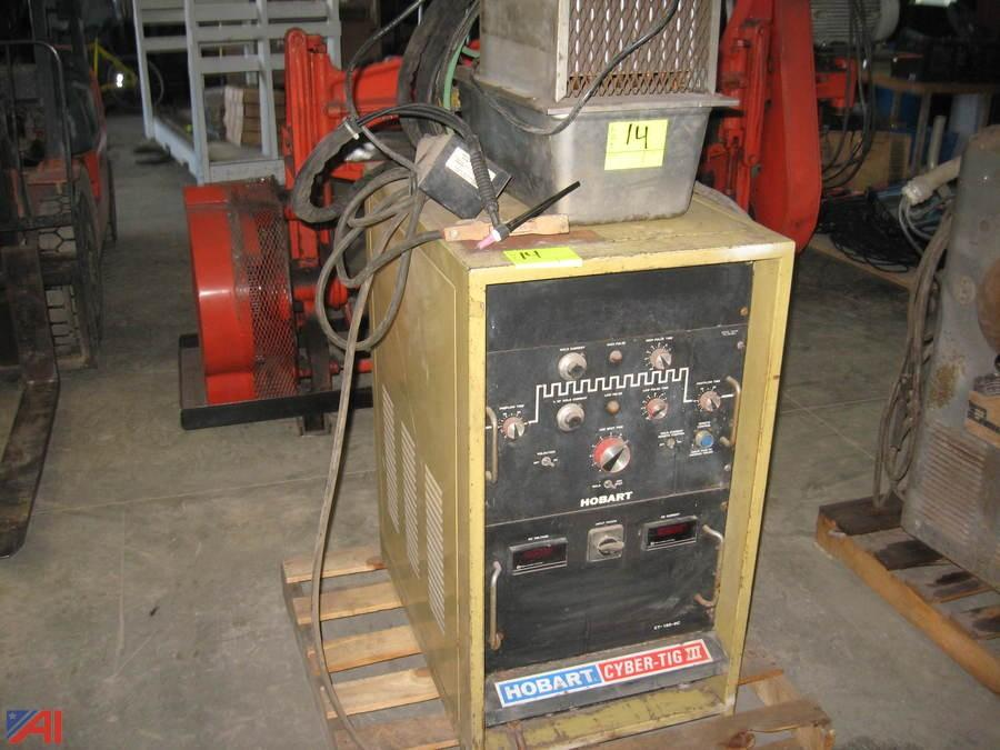 Hobart Tig Welder >> Auctions International Auction Business Liquidation Ny