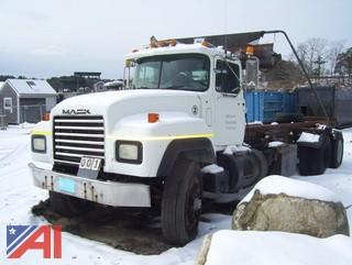 1992 Mack RD688S Roll Off Truck