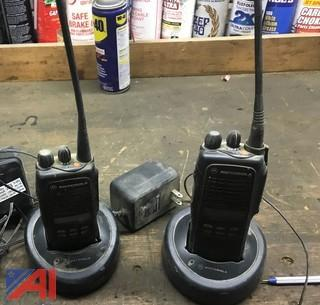 Motorola HT 1250 2 Way Hand Held Radios
