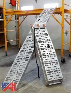 One Set of Aluminum Ramps