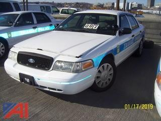 2008 Ford Crown Victoria 4 Door/Police Interceptor