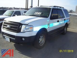 2012 Ford Expedition SUV/K9 Unit Vehicle