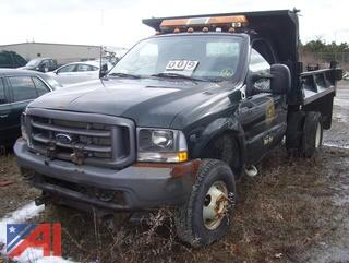 2002 Ford F350 Dump Truck