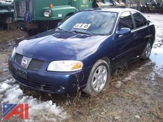 2005 Nissan Sentra 4DSD