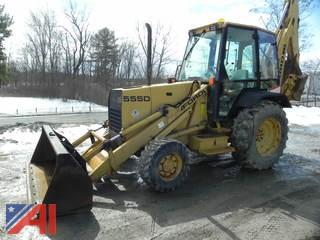 1996 New Holland 555D Backhoe Loader