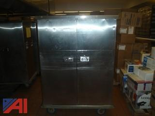 (#47) Stainless Steel Food Storage Cabinet