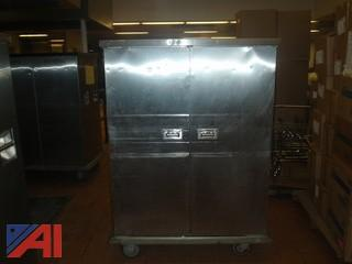 (#50) Stainless Steel Food Storage Cabinet