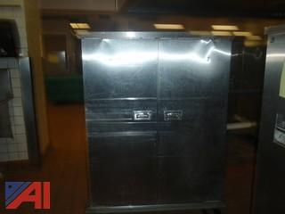 (#54) Stainless Steel Food Storage Cabinet