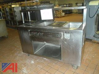 (#59) Stainless Steel Food Serving Station