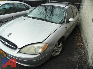 (18) 2002 Ford Taurus Wagon 4 Door