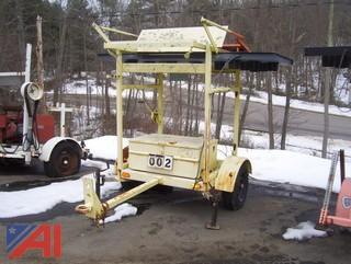 1995 Arrowmaster WAAW 15 LI Solar Arrow Board