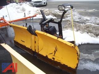 Meyers 7.5' V Snow Plow with EZ Mount Plus