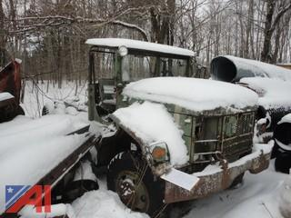 1968 Kaiser 2 1/2 Ton 6x6 Cab & Chassis Truck