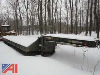 1968 Fontaine 25 Ton Low Bed Trailer