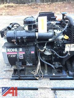 7 KW Kohler Generator