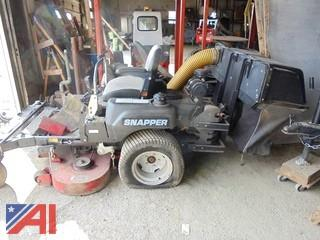 "2004 Snapper 52"" Zero Turn Mower with Bagger"