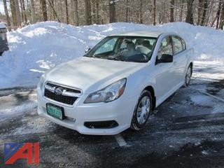 **Lot Updated** 2013 Subaru Legacy 4 Door